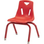 Jonti-Craft Berries Plastic Chair w/Powder Coated Legs (8122JC1008)