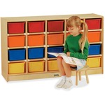 Jonti-Craft 20 Cubbie-tray Mobile Storage Unit (0421JC)