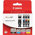 Canon PGI225CLI226 Ink Cartridge - Black, Yellow, Magenta, Yellow CNMPGI225CLI226