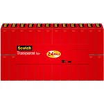Scotch Transparent Tape Refill MMM600K24