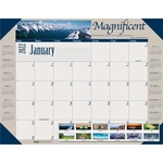 House of Doolittle Earthscapes Motivational Desk Pad Calendar HOD175