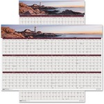 House of Doolittle Coastlines Two Sided Laminated Planner HOD3968