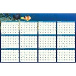 House of Doolittle Sea Life Two Sided Laminated Planner HOD3969