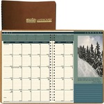 House of Doolittle Landscape 2PPM Monthly Planner HOD524