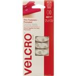 Velcro White Wafer-thin Fasteners VEK91386