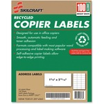 Skilcraft Recycled Copier Label NSN2074363
