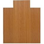 Lorell Roll-Up Bamboo Chairmat LLR69522