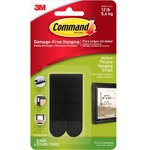 Command Medium Adhesive Picture Hanging Strips MMM17201BLK