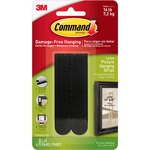 Command Large Adhesive Picture Hanging Strips MMM17206BLK