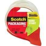 Scotch Sure Start Easy Unwind Packaging Tape MMM3450SRD-BULK
