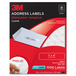 3M Address Label MMM3400F