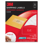 3M Shipping Label MMM3400T