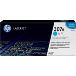 HP 307A Cyan Original LaserJet Toner Cartridge HEWCE741A