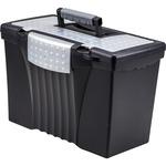 Storex Portable File Box STX61510U01C