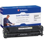 Verbatim HP CC532A Remanufactured Yellow Toner Cartridge (Color LaserJet CM2320fxi MFP, CM2320n MFP, CM2320nf MFP, CP2025dn, CP2025n, CP2025x) VER97483