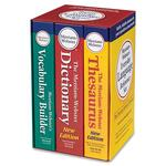 Merriam-Webster Language Reference SetDictionary Printed Book MER8750