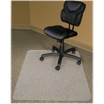 Advantus RecyClear Carpet Chair Mat AVT40141