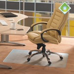 EcoTex Revolutionmat Recycled Chair Matt, 48 x 60, Slightly Tinted FLRECO4860EP