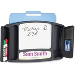 Safco Deluxe Message Whiteboard SAF4141BL