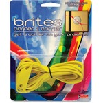 Alliance Rubber 07869 Brites Corner-to-corner Bands - Non-latex Elastics