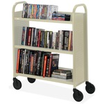 Bretford Basics Voyager Single-Sided Premium Book Truck BREBOOV2PB