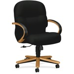 HON Pillow-Soft 2192 Mid Back Management Chair HON2192CNT10