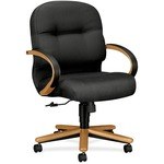 HON Pillow-Soft 2192 Mid Back Management Chair HON2192CNT19