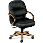 HON Pillow-Soft 2192 Mid Back Management Chair HON2192CSR11
