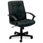 Basyx by HON VL602 Mid Back Loop Arm Management Chair BSXVL602VA19