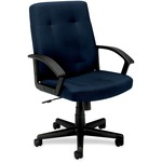 Basyx by HON VL602 Mid Back Loop Arm Management Chair BSXVL602VA90