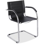 Safco Flaunt Guest Chair with Arm SAF3457BL