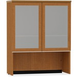bbf Milano 2 Series Bookcase Hutch with Doors BSH50HS36GA