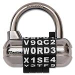 Master Lock Combination Alpha Padlock MLK1534DBLK