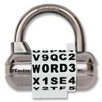 Master Combination Alpha Padlock MLK1534DWHT