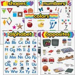 Trend Kindergarten Basic Skills Learning Chart TEP38920