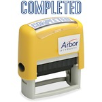 Skilcraft Pre-inked 1-Clr Completed Message Stamp NSN3246955
