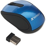Verbatim Wireless Mini Travel Mouse Blue VER97471