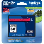 Brother P-touch TZe Laminated Tape Cartridges (TZE-421)