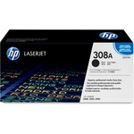 HP 308A (Q2670A) Black Original LaserJet Toner Cartridge HEWQ2670A