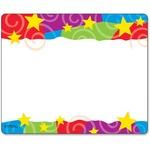 Trend Stars & Swirls Name Tag TEPT68070