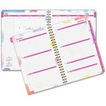 Day Runner Wirebound Watercolor Weekly Planner DRN791200G