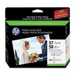 HP 57/58 Ink Cartridge - Cyan, Magenta, Yellow, Photo Cyan, Photo Magenta, Photo Black HEWCR685AN