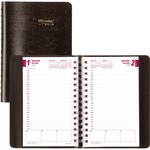 Blueline Essential Diary REDCB634WBLK