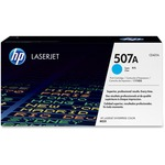 HP 507A Cyan Original LaserJet Toner Cartridge HEWCE401A