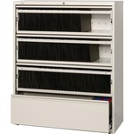 Lorell Receding Lateral File with Roll Out Shelves LLR43514