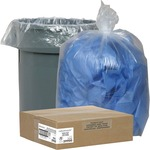 Nature Saver Clear Recycled Trash Can Liner NAT29900