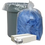Nature Saver Clear Recycled Trash Can Liner NAT29902