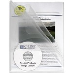 C-line Clear Multi-Section Project Folders CLI62117