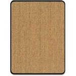 Deflect-o DuraMat Color Band Sisal Chair Mat DEFCM23242CBS