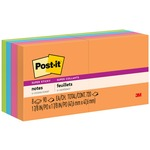Post-it Notes Super Sticky 2x2 Jewel Pop Notes MMM6228SSAU